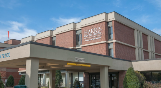 Access route to offices behind hospital announced for Harris Emergency Department Construction