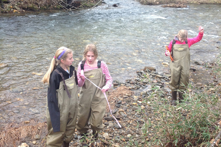 Grant funds WCU partnership for hands-on teaching, learning ― and a creek runs through it