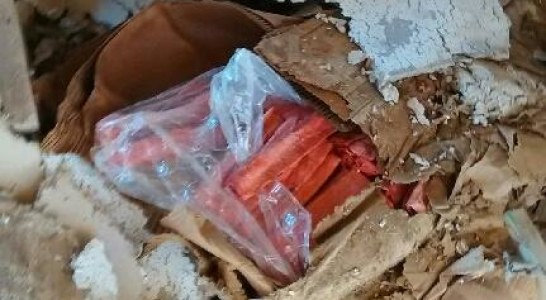 Dynamite Discovered in Murphy Area