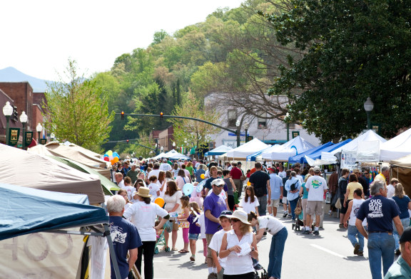 Sylva Hosts Annual Greening Up The Mountains Spring Festival on April 23