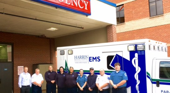 Harris Regional Hospital and Swain Community Hospital celebrate National EMS Week