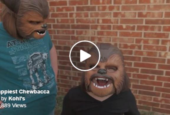 A Woman in a Chewbacca Mask Broke a Facebook Record