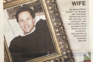 A Dad Secretly Buys a Full-Page Newspaper Ad to Find a Wife For His 48-Year-Old Son
