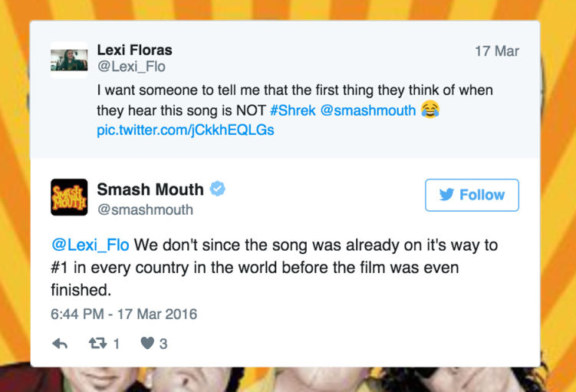 Smash Mouth's Twitter Account Will Argue with Anyone Who Says They're a One-Hit Wonder