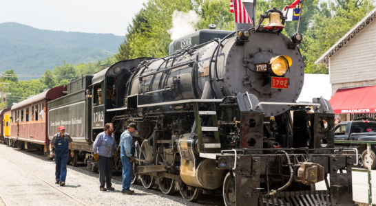 GSMR Steam train makes first trip to Dillsboro