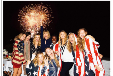 If You Mattered, You Celebrated the 4th of July with Taylor Swift