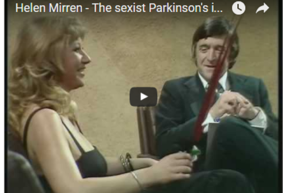 Watch Helen Mirren Put a Sexist Reporter in His Place . . . In 1975
