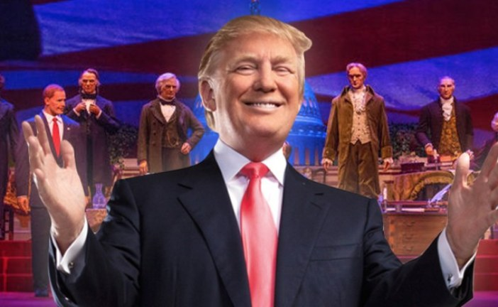 PETITION TO KEEP TRUMP SILENT AT DISNEY'S HALL OF PRESIDENTS