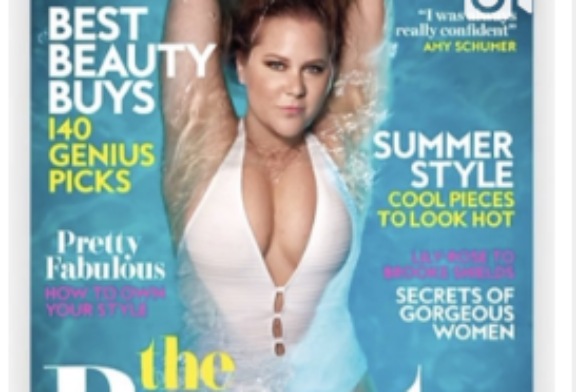 The Beauty Products Amy Schumer Can't Live Without Are . . . Secret Deodorant and Toilet Paper