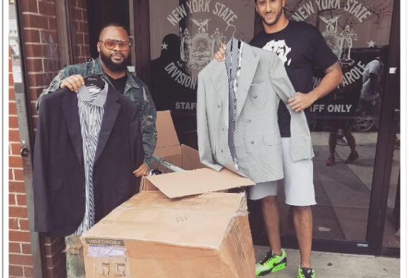 Colin Kaepernick Is Now Giving Free Suits to Prison Parolees