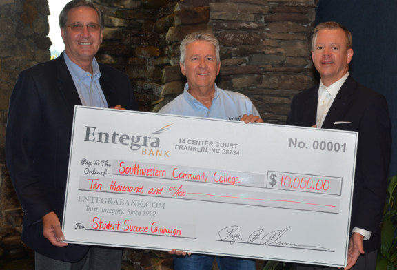 Entegra's matching offer yields $22,000 in gifts to SCC's Student Success Campaign