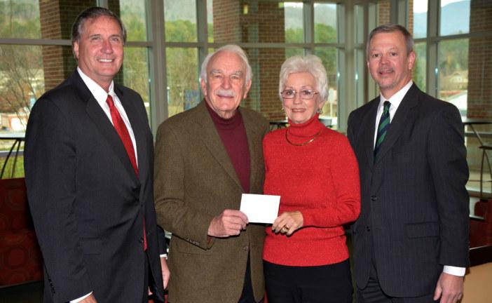 Connie & Phil Haire endow SCC scholarship