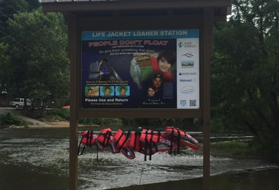 LIFE JACKET LOANER STATIONS OPEN MEMORIAL DAY WEEKEND