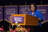 Former U.S. attorney general provides prescription for divided nation during visit at WCU
