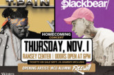 Two-time Grammy Award winner T-Pain, Blackbear co-headline WCU Homecoming Concert