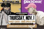 Two-time Grammy Award winner T-Pain, Blackbear co-headline WCU Homecoming Concert