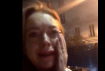 Lindsay Lohan Got Punched in the Face While Livestreaming Herself Harassing a Homeless Family in Russia