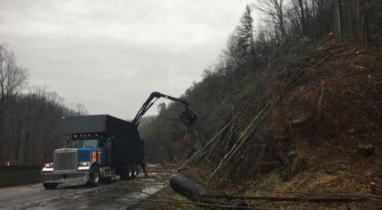 Slide Closes I-40 Near State Line