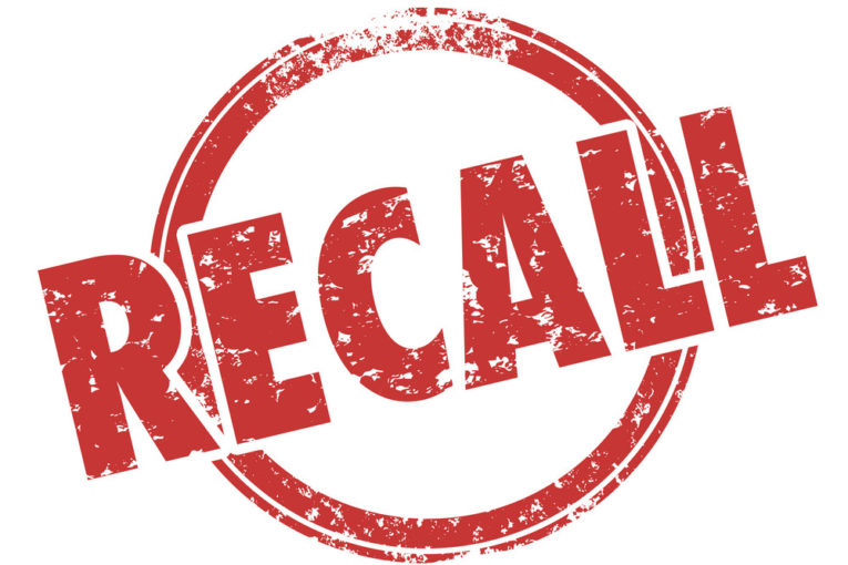 A Voluntary Recall Has Been Issued